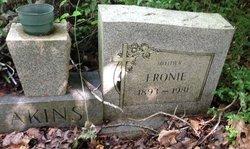 Fronie <i>Rogers</i> Akins
