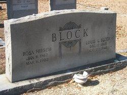 Rosa <i>Hirsch</i> Block
