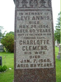 Charlotte Eleanor <i>Clemens</i> Annis