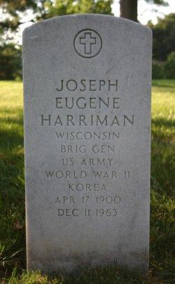 Gen Joseph Eugene Harriman