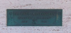 Col A. D. Cowley