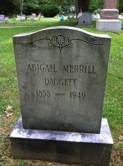 Abigail <i>Merrill</i> Daggert