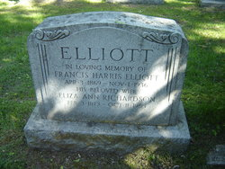 Eliza Ann <i>Richardson</i> Elliott