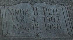 Simon H Pete Holiday