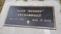 Alice Katherine <i>Dunphy</i> Archambault