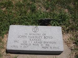 John Yardley Boyd