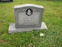 Maggie Ruth <i>Sullivan</i> Burgess