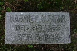 Harriet M Gear