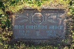 Anna Christine <i>Shaffer</i> Huber