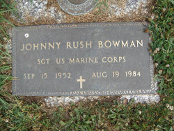 Johnny Rush Bowman