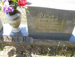 Dixie Lee <i>Gantt</i> Baker