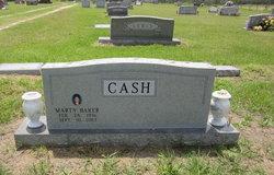 Martha Jane Marty <i>Baker</i> Cash
