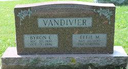 Byron Elven Vandivier