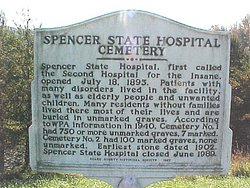 Spencer State Hospital Cemetery