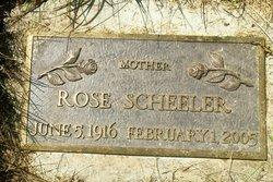 Rose V. Scheeler