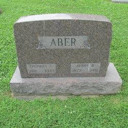 Adaline B Addie <i>Wilkin</i> Aber