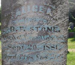 Alice A <i>Winegar</i> Stone