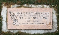 Marjorie <i>Taylor</i> Ainsworth