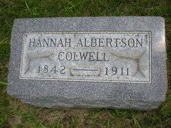 Hannah <i>Albertson</i> Colwell