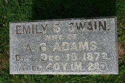 Emily Sophia <i>Swain</i> Adams