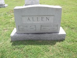 Ethel <i>Barker</i> Allen