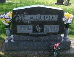 Joyce Elaine <i>Lorenz</i> Ballschmidt
