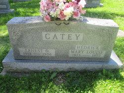 Ernest O Catey