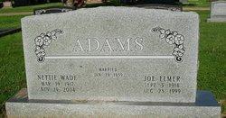 Nettie Eunice <i>Wade</i> Adams