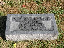 Neppie E <i>Harned</i> Allison