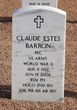 Claude Estes Barron, Jr