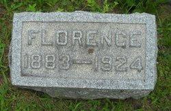Florence <i>Arnett</i> Van Sickel