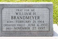 Rev Fr William H. Brandmeyer