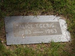 Alice Talitha <i>Irwin</i> Gerig
