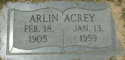 Arlin Acrey