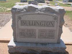 Lucy Ann <i>Garrett</i> Bullington