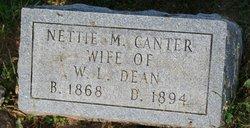 Nettie M. <i>Canter</i> Dean