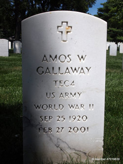 Amos William Gallaway