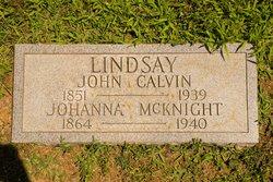 Johanna <i>McKnight</i> Lindsay
