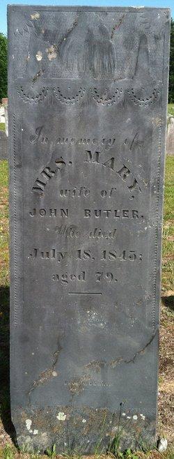 Mary Molley <i>Daniels</i> Butler