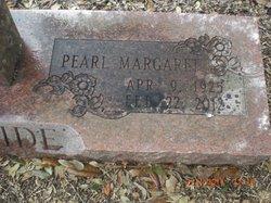 Pearl Margaret <i>Chiles</i> McBride