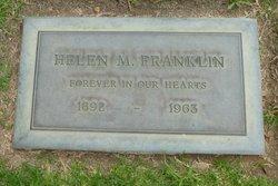 Helen M Franklin