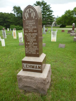 Wilhelmine <i>Schultz</i> Lehman