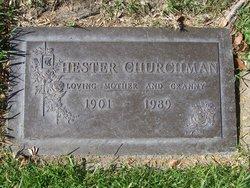 Hester <i>Reeves</i> Churchman