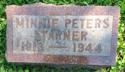 Minnie <i>Peters</i> Starner