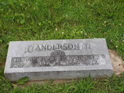 Anna Laura Annie <i>Pendleton</i> Anderson