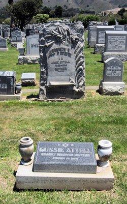 Gussie <i>Abraham</i> Attell