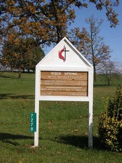 Ridge Spring United Methodist Church Cemetery