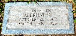 John Allen Abernathy