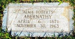 Alma Pamela <i>Roberts</i> Abernathy