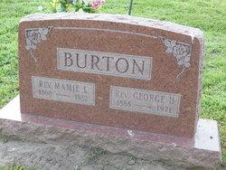 Mamie Leo <i>Burk</i> Burton